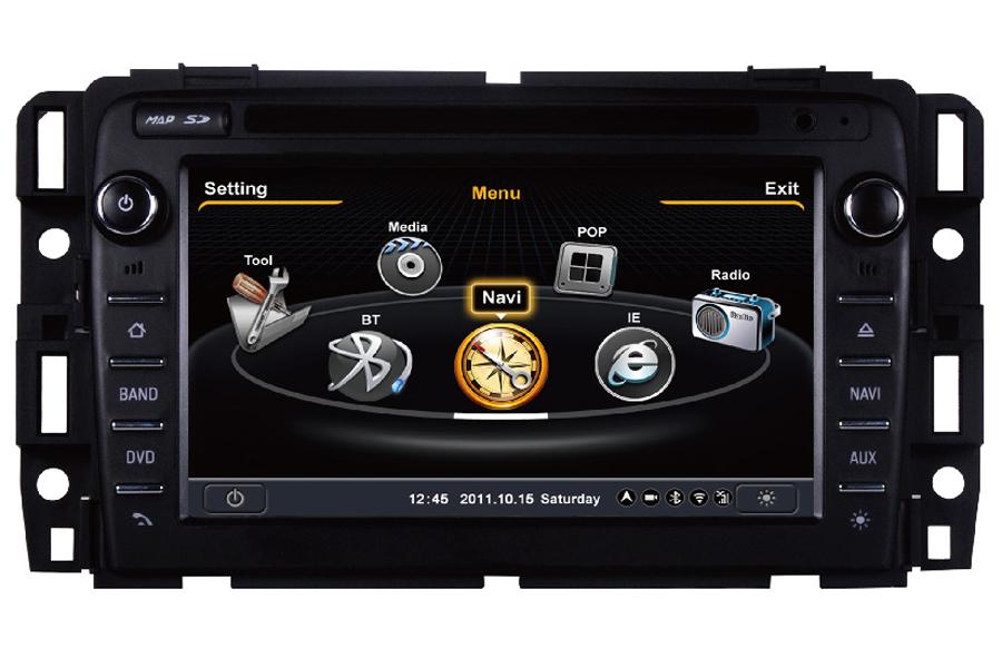 GMC Acadia 2013 Autoradio GPS Aftermarket Android Head Unit Navigation Car Stereo