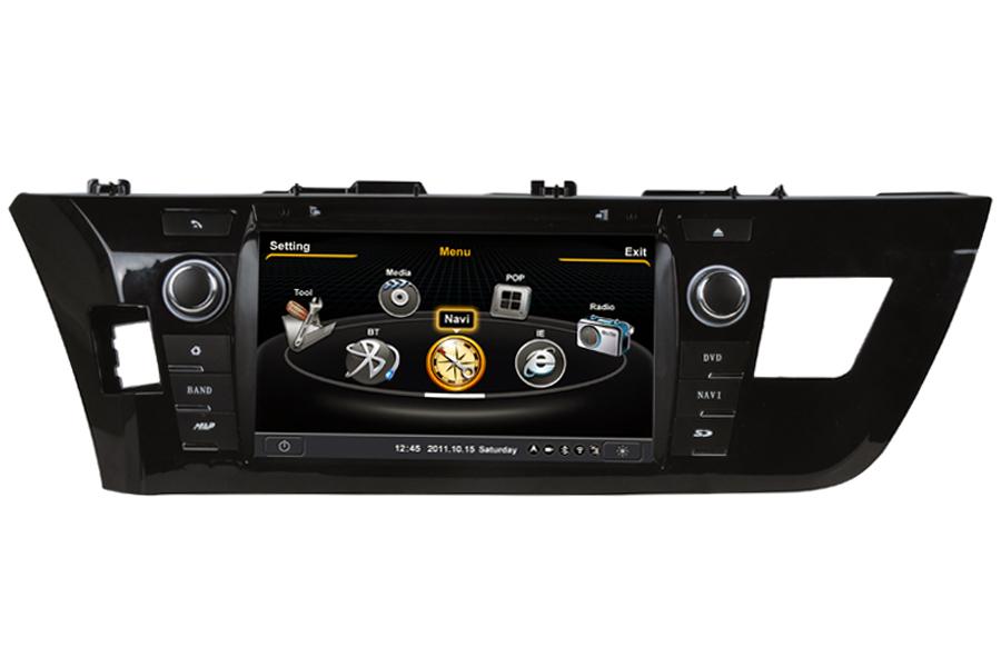 Toyota Corolla (Europe) 2013-2015 Autoradio GPS Aftermarket Android Head Unit Navigation Car Stereo