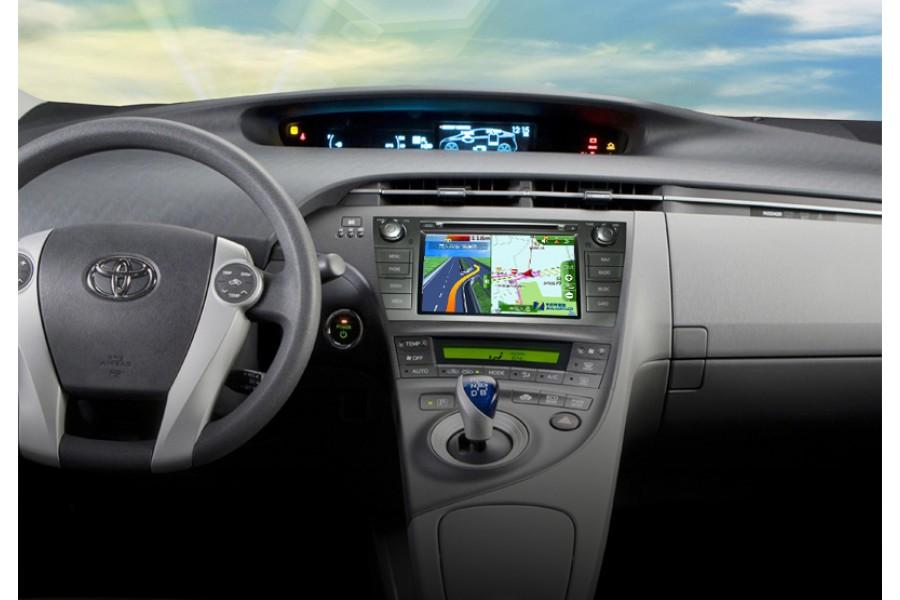 Toyota Prius 2010-2014 Autoradio GPS Aftermarket Android Head Unit Navigation Car Stereo