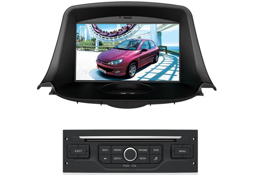 Peugeot 206 Autoradio GPS Aftermarket Android Head Unit Navigation Car Stereo