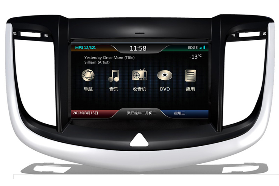 Daewoo Tosca 2013 Autoradio GPS Aftermarket Android Head Unit Navigation Car Stereo