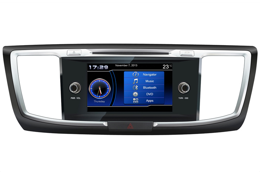 Honda Accord 9th Gen 2013-2017 Autoradio GPS Aftermarket Android Head Unit Navigation Car Stereo