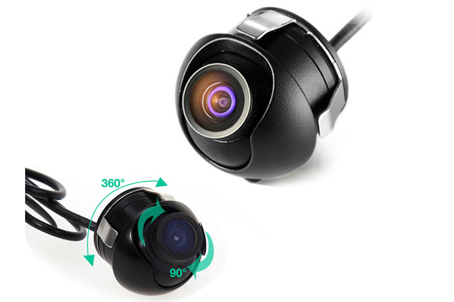 Universal Camera for Front/Side /Left/Right /Rear 360 degree Rotation view camera