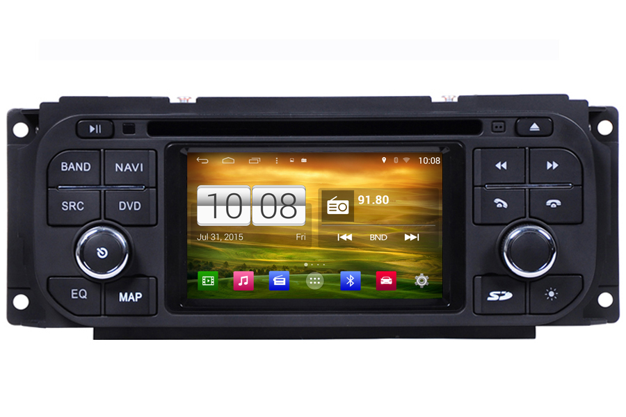 Dodge Series 2002-2007 Autoradio GPS Aftermarket Android Head Unit Navigation Car Stereo