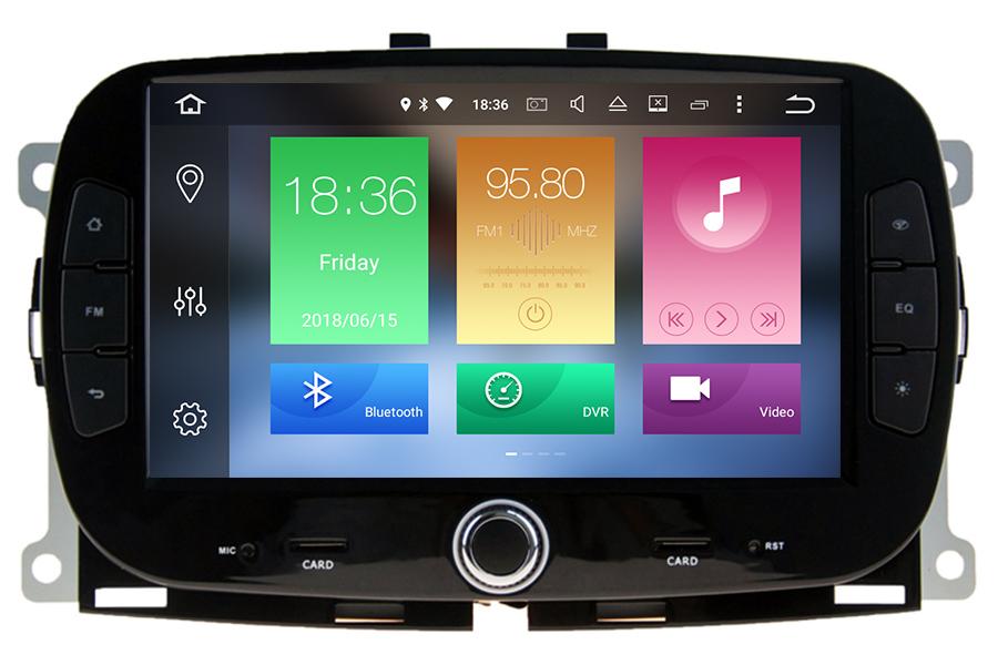 Fiat 500 2016-2020 Aftermarket Radio Upgrade