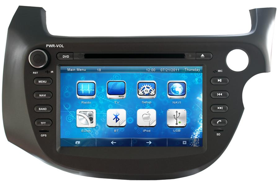 Honda Fit/Jazz Right Hand Drive 2007-2014 Autoradio GPS Aftermarket Android Head Unit Navigation Car Stereo