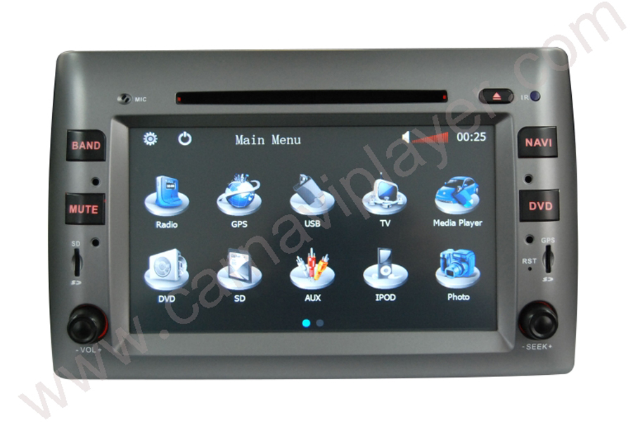 Fiat Stilo 2002-2010 Autoradio GPS Aftermarket Android Head Unit Navigation Car Stereo