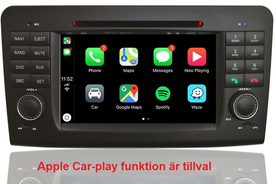 Mercedes-Benz GL-Class (X164)/ML-Class (W164) 2005-2012 Autoradio GPS Aftermarket Android Head Unit Navigation Car Stereo