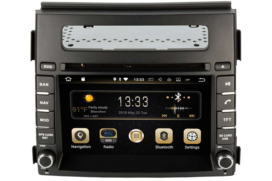 Kia Soul 2012-2014 Autoradio GPS Aftermarket Android Head Unit Navigation Car Stereo