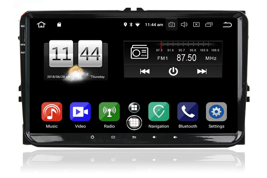 VW/Skoda/Seat  Autoradio GPS Aftermarket Android Head Unit Navigation Car Stereo