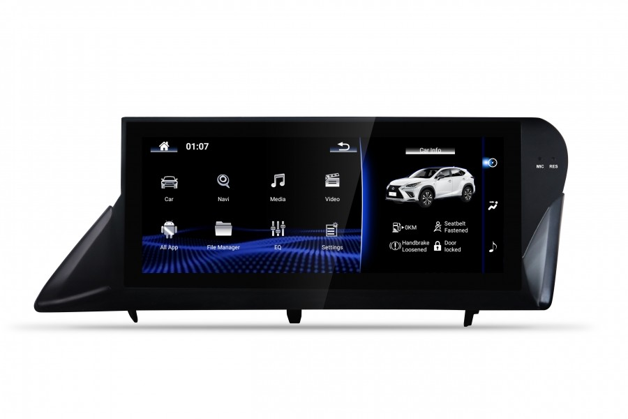 Lexus RX270 Android 9, 4g/64gb 8-core Android head unit