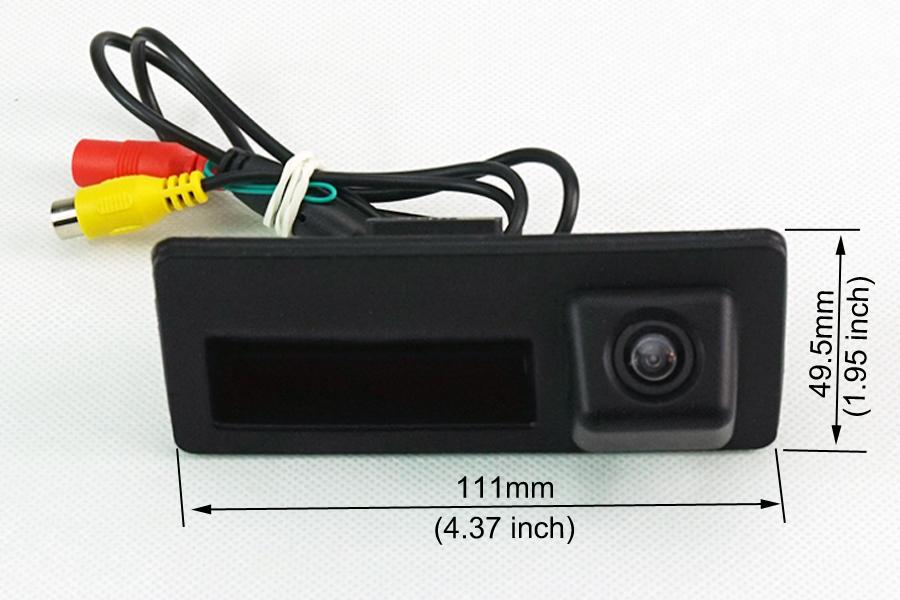 Audi A3/A4/A5/A6/A7/Q3/Q5/Q7 Tailgate Handle Reverse Camera