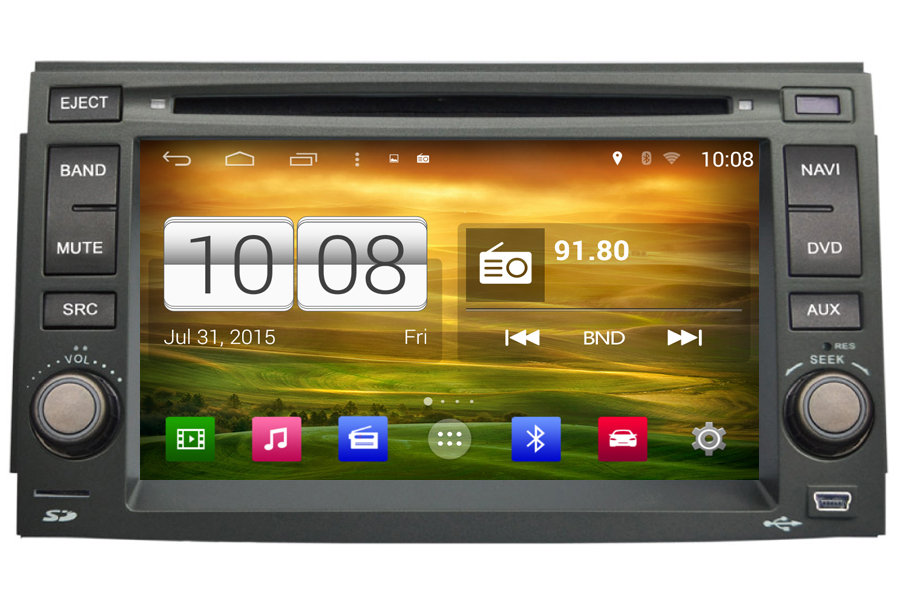 Hyundai Azera 2006-2011 Autoradio GPS Aftermarket Android Head Unit Navigation Car Stereo