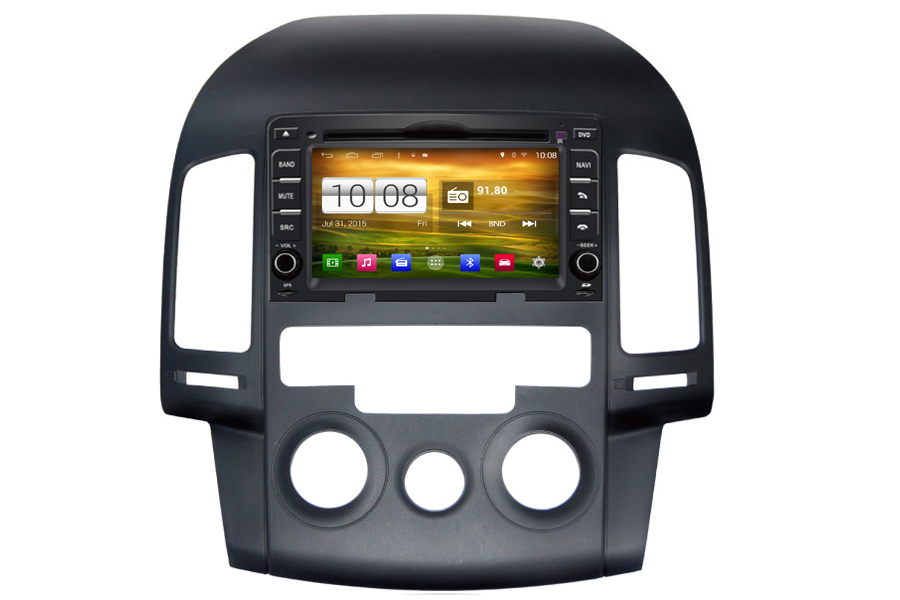 Hyundai i30 2007-2012 Autoradio GPS Aftermarket Android Head Unit Navigation Car Stereo