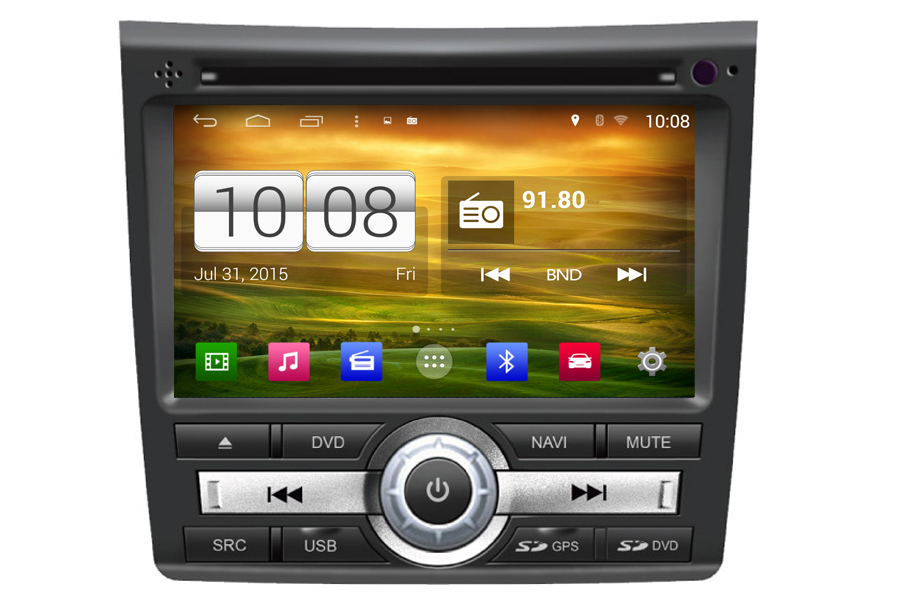 Honda City 2012-2013 Autoradio GPS Aftermarket Android Head Unit Navigation Car Stereo