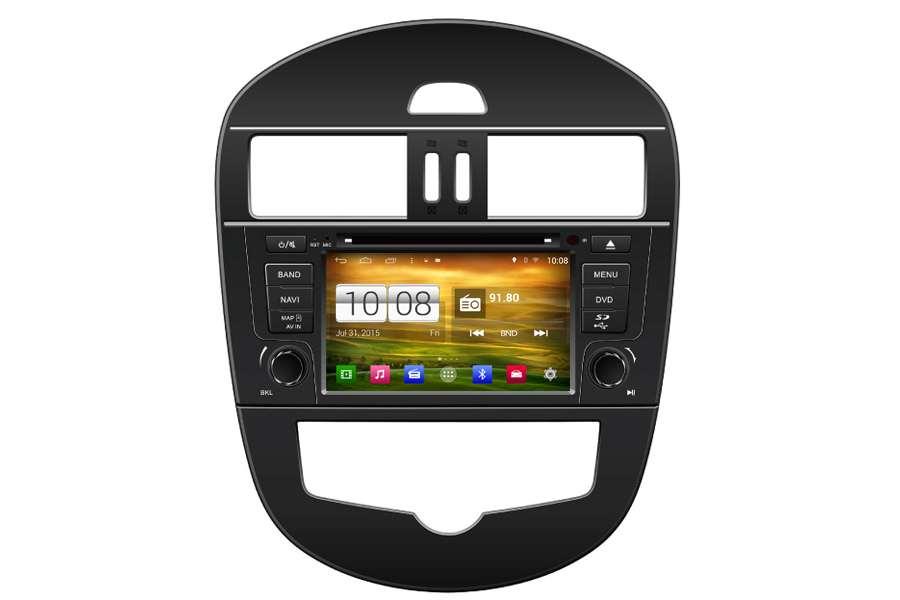 Nissan Tiida 2012-2014 Autoradio GPS Aftermarket Android Head Unit Navigation Car Stereo