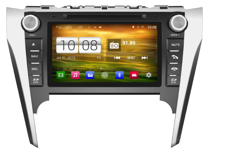 Toyota Camry/Aurion (Europe/Australia) 2012-2013 Autoradio GPS Aftermarket Android Head Unit Navigation Car Stereo