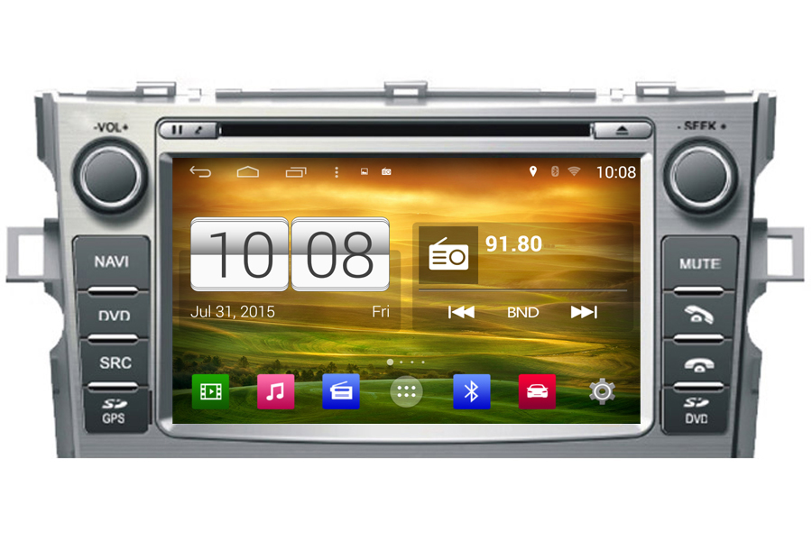 Toyota Verso/EZ Android OS Navigation Radio Player