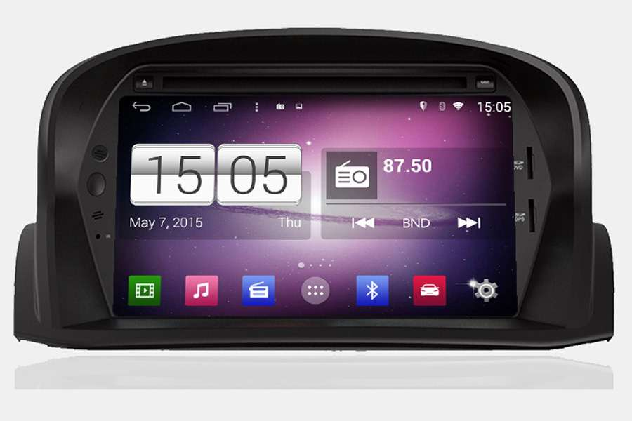 Ford Fiesta 2008-2012 Autoradio GPS Aftermarket Android Head Unit Navigation Car Stereo