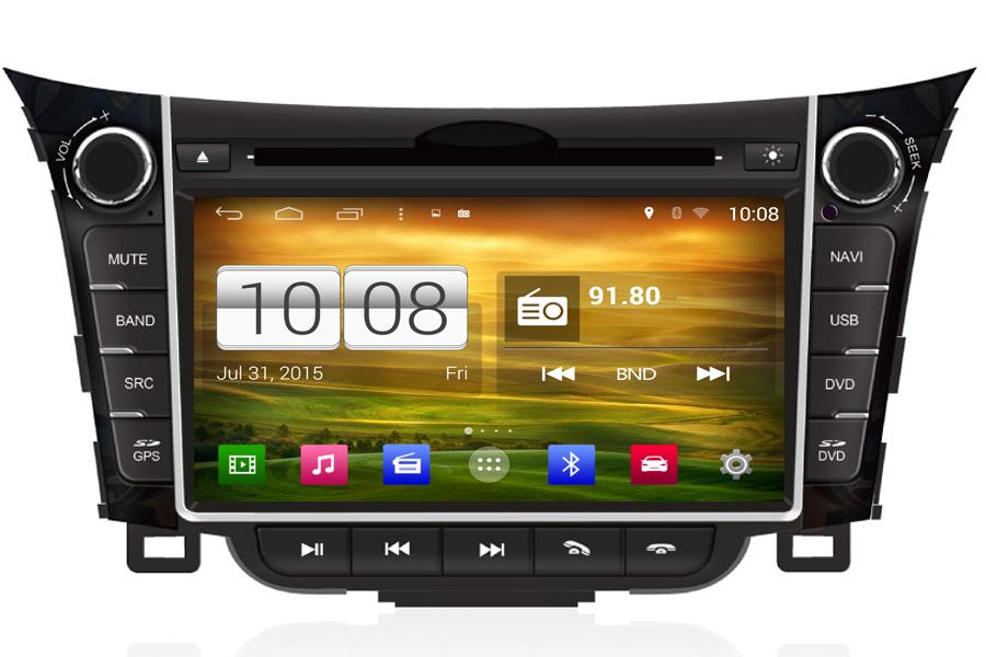Hyundai i30 2013 Autoradio GPS Aftermarket Android Head Unit Navigation Car Stereo