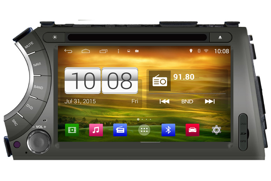 SsangYong Series 2006-2010 Autoradio GPS Aftermarket Android Head Unit Navigation Car Stereo