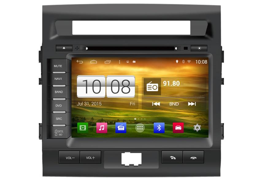 Toyota Land Cruiser 200S/Roraima 2007-2013 Autoradio GPS Aftermarket Android Head Unit Navigation Car Stereo