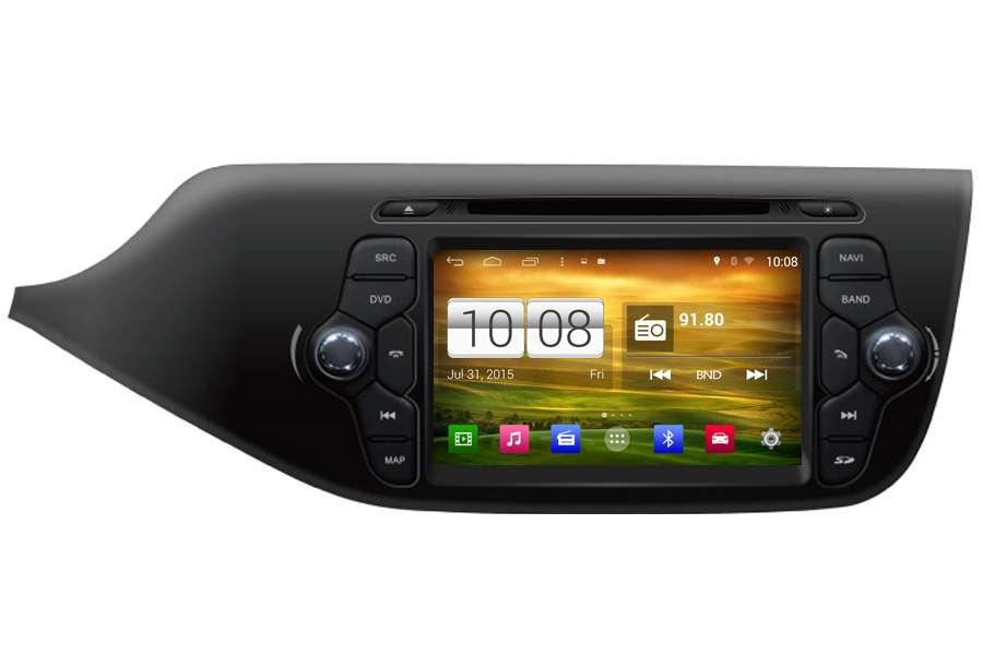 Kia Ceed 2013 Autoradio GPS Aftermarket Android Head Unit Navigation Car Stereo