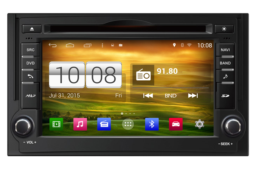 Hyundai Series 2007-2012 Autoradio GPS Aftermarket Android Head Unit Navigation Car Stereo