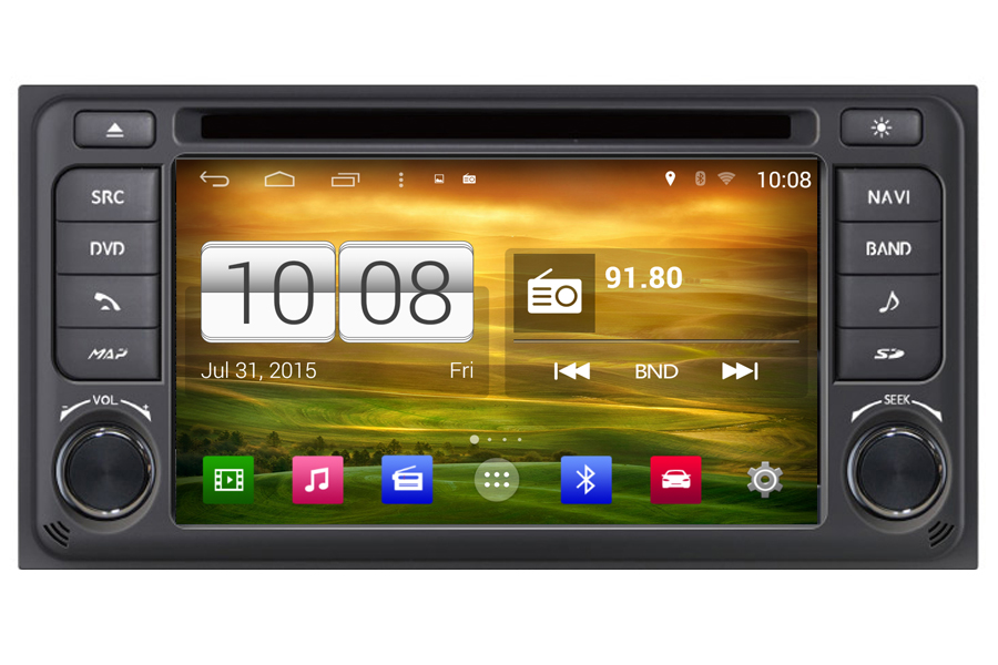 Toyota Etios 2013-2014 Autoradio GPS Aftermarket Android Head Unit Navigation Car Stereo