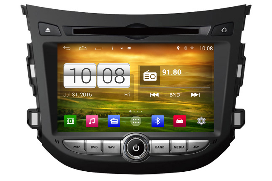 Hyundai HB20 2012-2013 Autoradio GPS Aftermarket Android Head Unit Navigation Car Stereo