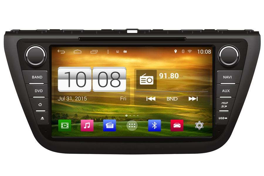 Suzuki S-Cross 2006-2014 Autoradio GPS Aftermarket Android Head Unit Navigation Car Stereo