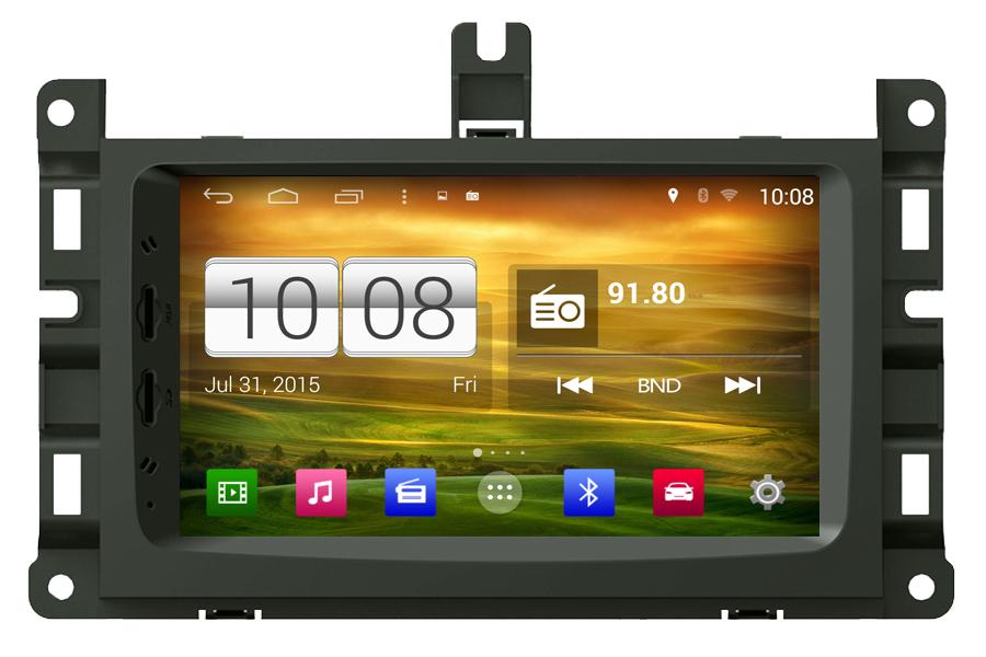 Jeep Grand Cherokee 2014-2016 Autoradio GPS Aftermarket Android Head Unit Navigation Car Stereo