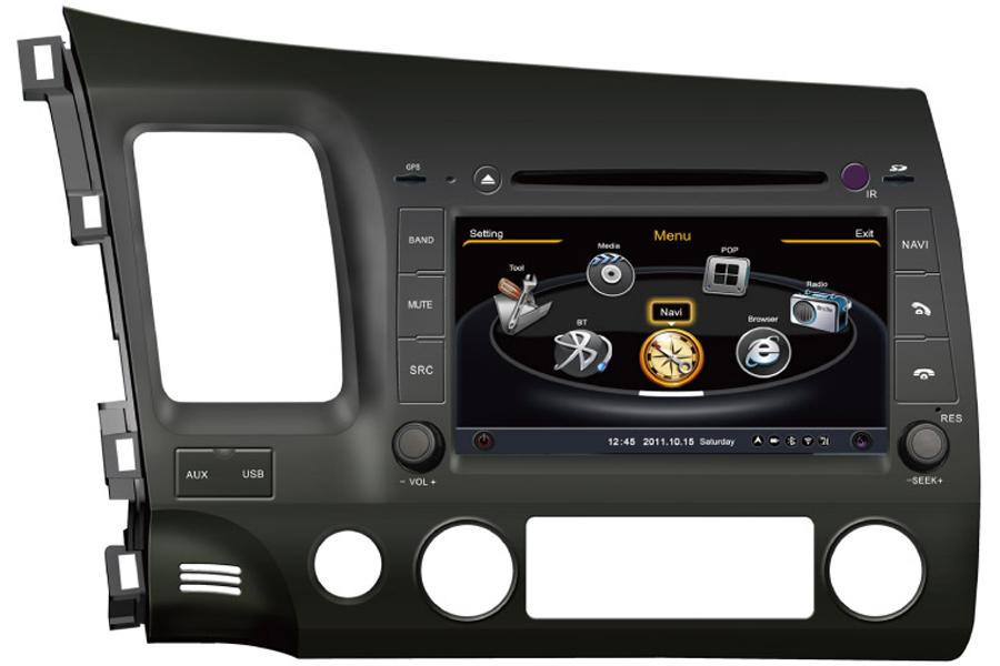 Honda Fit 2014 Autoradio GPS Aftermarket Android Head Unit Navigation Car Stereo