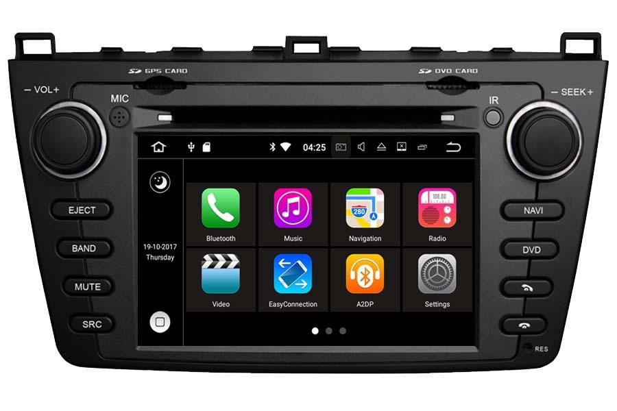 Mazda 6 2008-2012 Autoradio GPS Aftermarket Android Head Unit Navigation Car Stereo