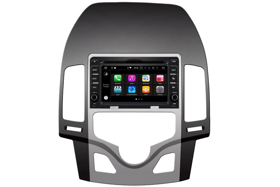 Hyundai i30 2007-2012 Autoradio GPS Aftermarket Android Head Unit Navigation Car Stereo