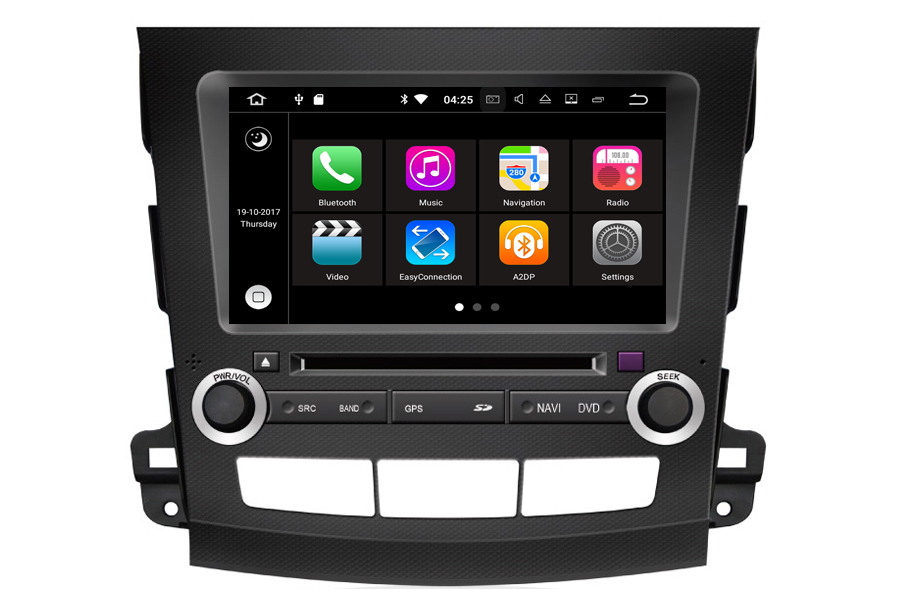 Peugeot 4007 2007-2011 Autoradio GPS Aftermarket Android Head Unit Navigation Car Stereo
