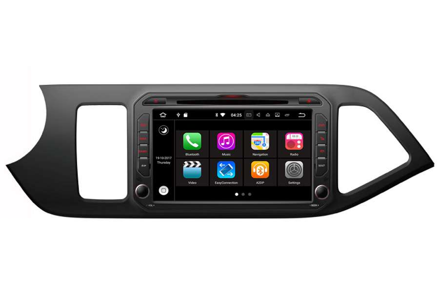 Kia Series/Naza 2011-2013 Autoradio GPS Aftermarket Android Head Unit Navigation Car Stereo