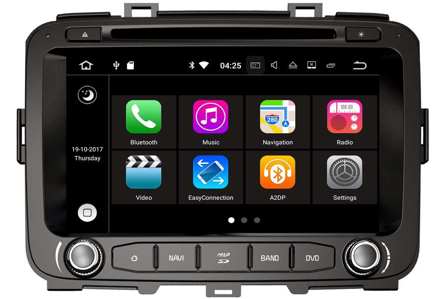 Kia Carens 2012-2014 Autoradio GPS Aftermarket Android Head Unit Navigation Car Stereo