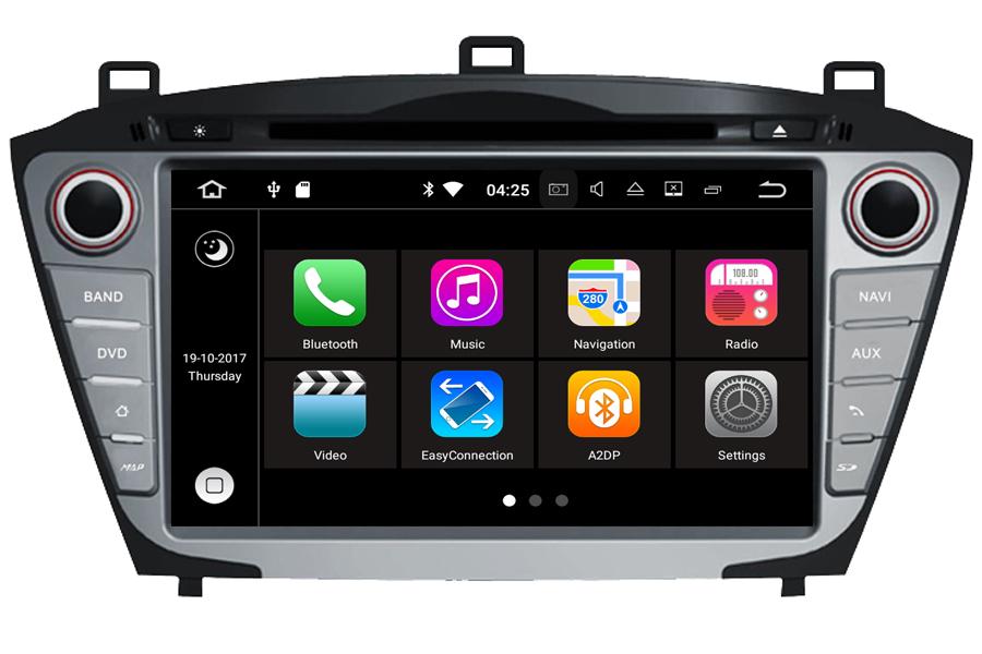Hyundai IX35/Tucson 2014 Autoradio GPS Aftermarket Android Head Unit Navigation Car Stereo