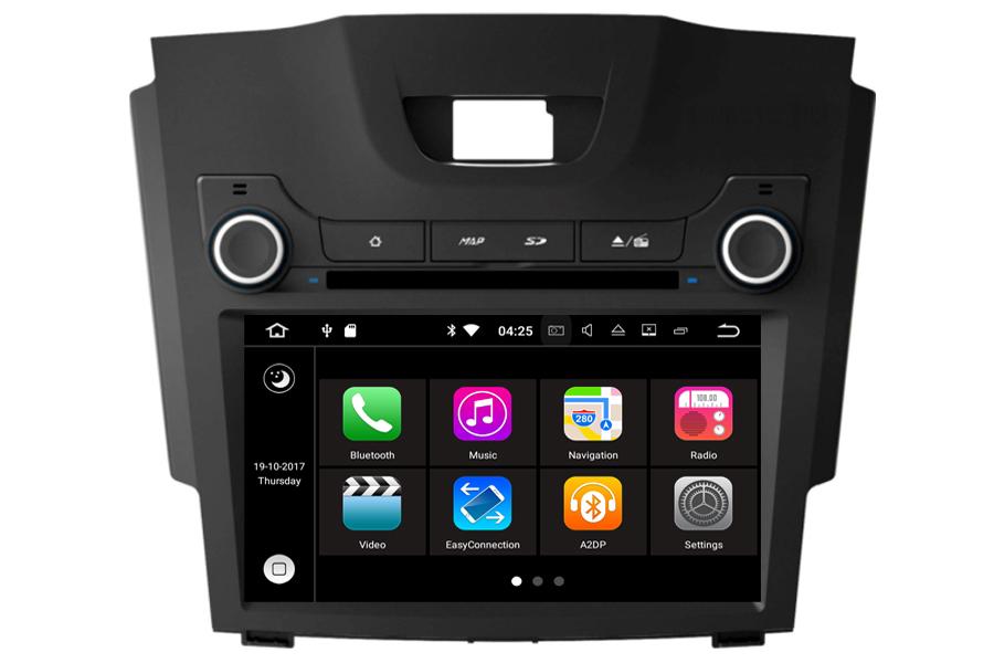 Isuzu D-MAX 2011-2017 Autoradio GPS Aftermarket Android Head Unit Navigation Car Stereo