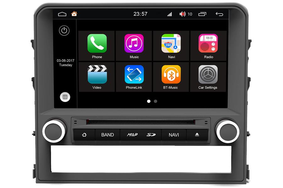 Toyota Land Cruiser 2016 Autoradio GPS Aftermarket Android Head Unit Navigation Car Stereo