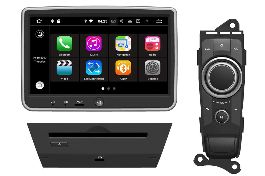 Mazda 2 2015-2017 Autoradio GPS Aftermarket Android Head Unit Navigation Car Stereo