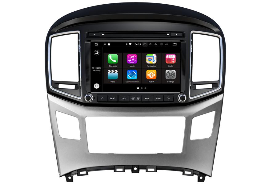 Hyundai H1 2016-2017 Autoradio GPS Aftermarket Android Head Unit Navigation Car Stereo