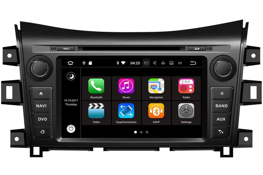 Nissan Navara 2016 Autoradio GPS Aftermarket Android Head Unit Navigation Car Stereo