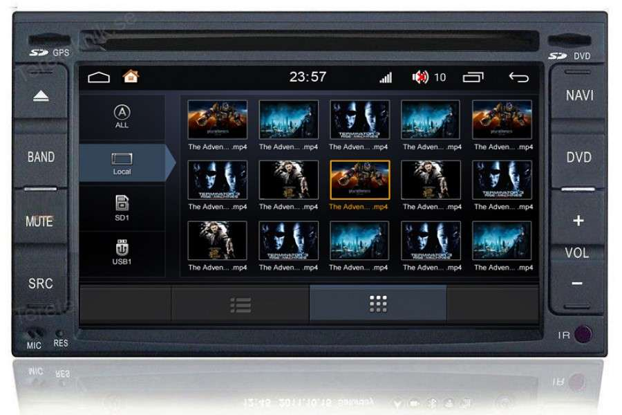 Nissan Series 2001-2012 Autoradio GPS Aftermarket Android Head Unit Navigation Car Stereo