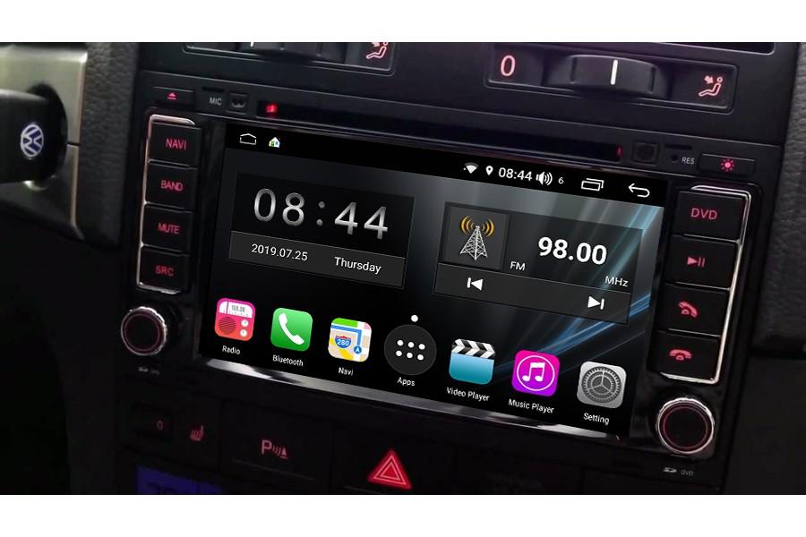 VW Touareg 2003-2010 Autoradio GPS Aftermarket Android Head Unit Navigation Car Stereo
