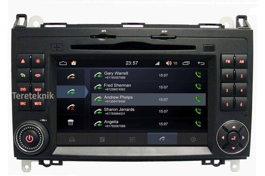 Mercedes-Benz Vito/Viano/Sprinter/VW Crafter 2003-2018 Autoradio GPS Aftermarket Android Head Unit Navigation Car Stereo