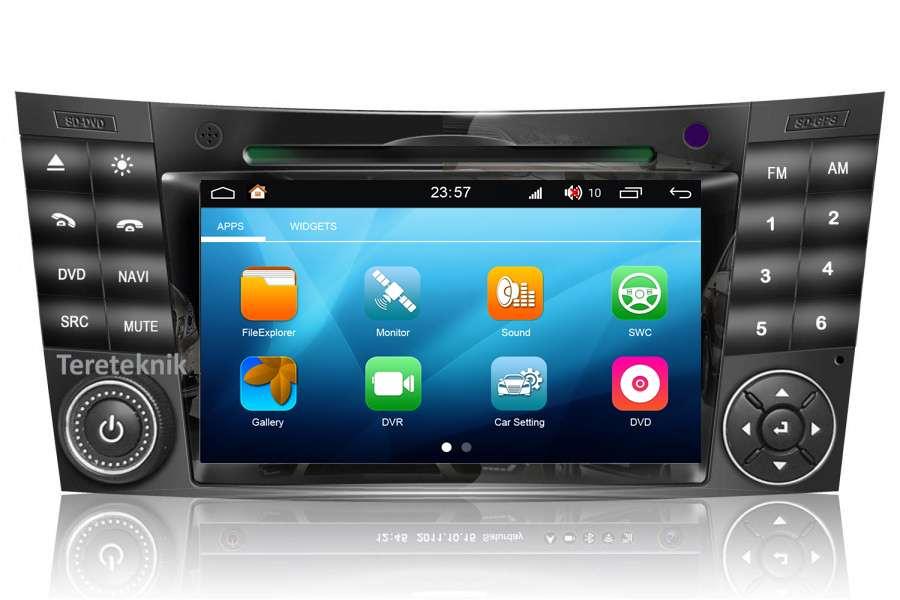 Mercedes Benz E-Class (W211)/CLS-Class (W219)/G-Class (W463) 2001-2010 Autoradio GPS Aftermarket Android Head Unit Navigation Car Stereo