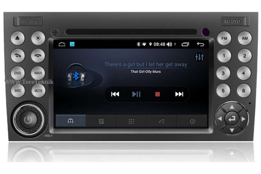 Mercedes-Benz SLK-Class (R171) 2004-2010 Autoradio GPS Aftermarket Android Head Unit Navigation Car Stereo