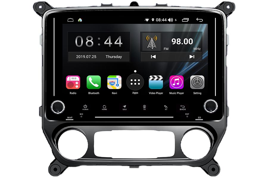 Chevrolet Silverado 1500/2500/3500 2014-2016 Autoradio GPS Aftermarket Android Head Unit Navigation Car Stereo